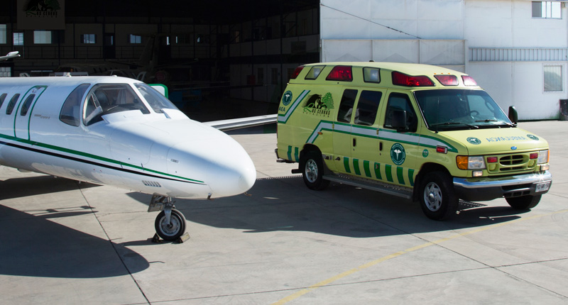 Ambulancia Aerea